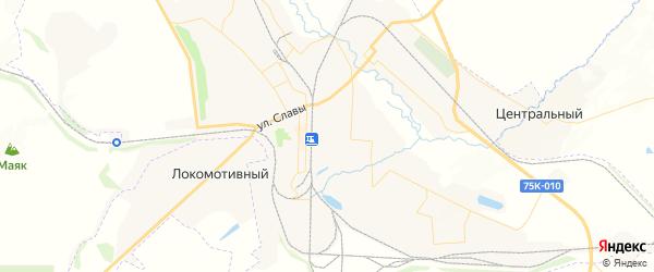 Карта Карталы с районами, улицами и номерами домов