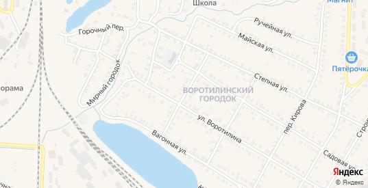 Переулок 40 лет Октября в Карталы с номерами домов на карте. Спутник и схема онлайн