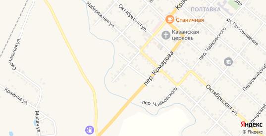 Речной переулок в Карталы с номерами домов на карте. Спутник и схема онлайн