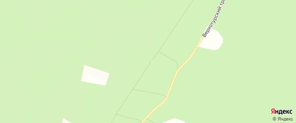 Территория СНТ Изумруд на карте Верхней Пышмы с номерами домов