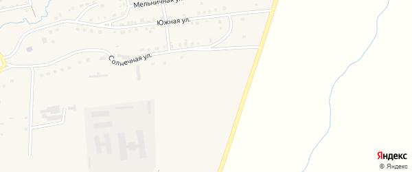 Улица Беликова на карте села Чесмы Челябинской области с номерами домов