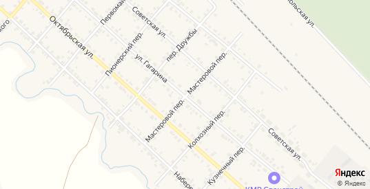 Мастеровой переулок в Карталы с номерами домов на карте. Спутник и схема онлайн
