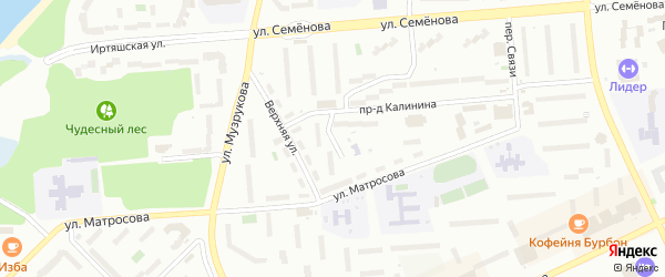 Рабочая улица на карте Озерска с номерами домов
