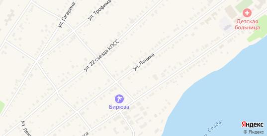 Улица Ленина в Нижней Салде с номерами домов на карте. Спутник и схема онлайн