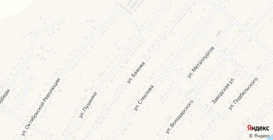 Улица Бажова в Нижней Салде с номерами домов на карте. Спутник и схема онлайн
