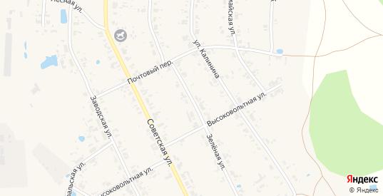 Зеленая улица в Верхотурье с номерами домов на карте. Спутник и схема онлайн