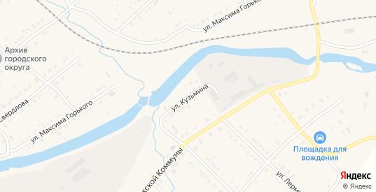 Улица Кузьмина в Нижней Салде с номерами домов на карте. Спутник и схема онлайн