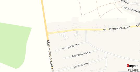 Прямая улица в Пласте с номерами домов на карте. Спутник и схема онлайн