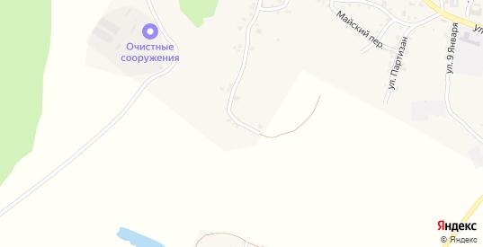 Багинская улица в Пласте с номерами домов на карте. Спутник и схема онлайн