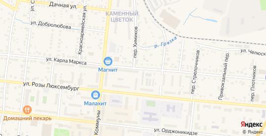 Переулок Химиков в Сысерти с номерами домов на карте. Спутник и схема онлайн