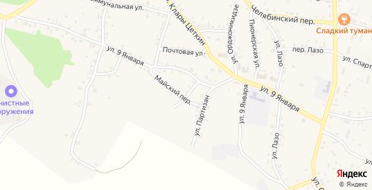 Улица Котовского в Пласте с номерами домов на карте. Спутник и схема онлайн