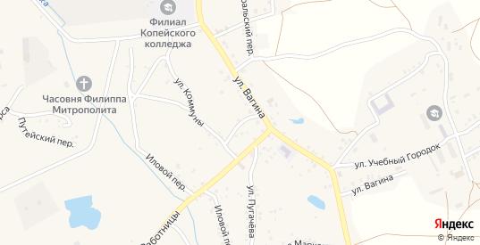 Горный переулок в Пласте с номерами домов на карте. Спутник и схема онлайн