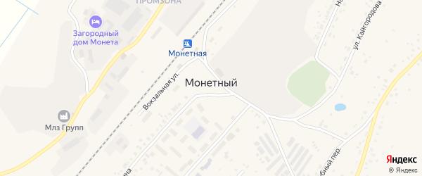 Родниковый переулок на карте Монетного поселка с номерами домов