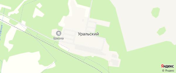 Карта Уральского поселка в Свердловской области с улицами и номерами домов