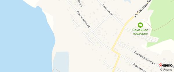 Восточная улица на карте села Кременкуль с номерами домов