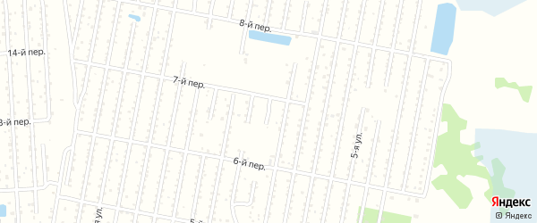 14-й квартал 10-я улица на карте территории СНТ Электрометаллурга Челябинской области с номерами домов