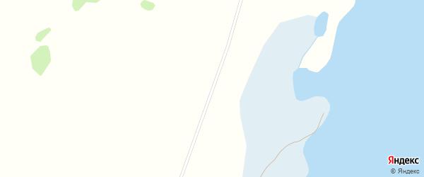 Северная улица на карте деревни Касарги Челябинской области с номерами домов