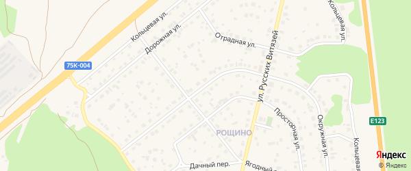 Окружная улица на карте Южноуральска с номерами домов