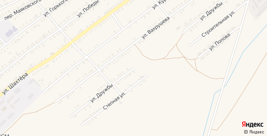 Улица Дружбы в Еманжелинске с номерами домов на карте. Спутник и схема онлайн
