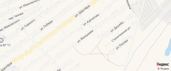 Улица Вахрушева на карте Еманжелинска с номерами домов