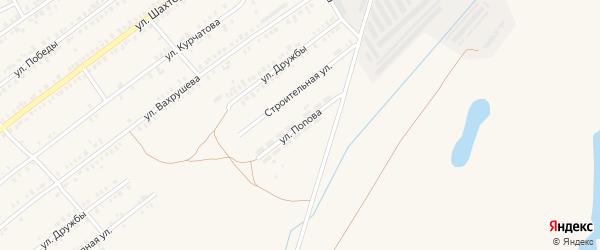 Улица Попова на карте Еманжелинска с номерами домов