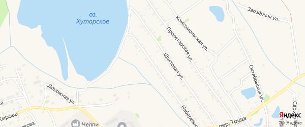 Набережная улица на карте Еманжелинска с номерами домов