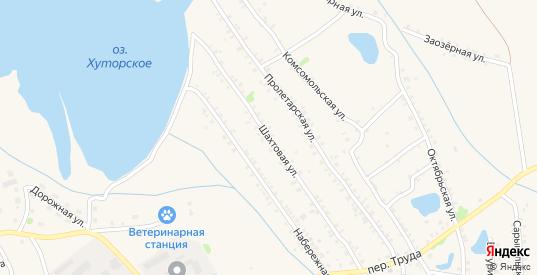Шахтовая улица в Еманжелинске с номерами домов на карте. Спутник и схема онлайн