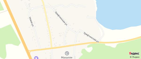 Урефтинская улица на карте деревни Султаева с номерами домов