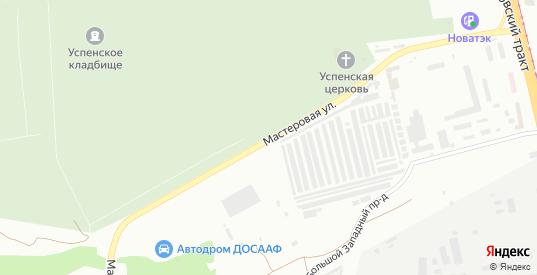 Мастеровая улица в Челябинске