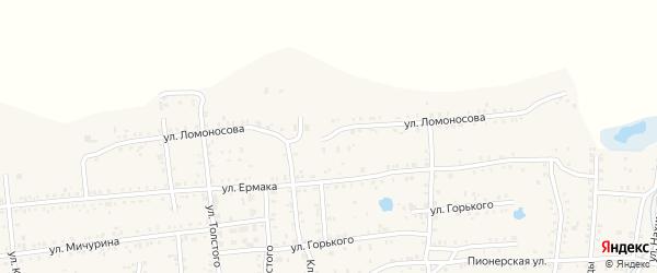 Улица Ломоносова на карте Коркино с номерами домов