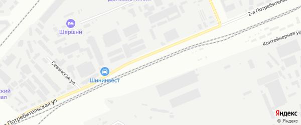 Станция Челябинск-Грузовой на карте Челябинска с номерами домов