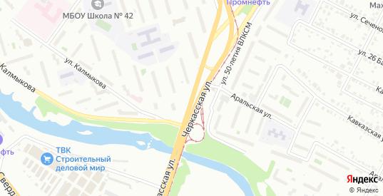 Черкасская улица в Челябинске с номерами домов на карте. Спутник и схема онлайн
