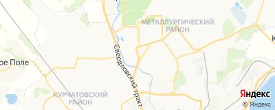 Ануфриева Светлана Сергеевна, адрес работы: г Челябинск, ул Черкасская, д 2