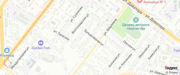 Кировоградская улица на карте Челябинска с номерами домов