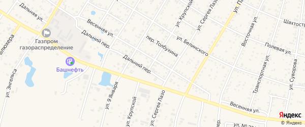 Улица Крупской на карте Коркино с номерами домов