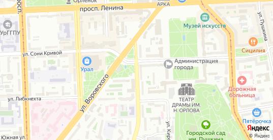 Улица Елькина в Челябинске с номерами домов на карте. Спутник и схема онлайн