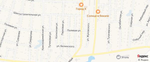 Улица Некрасова на карте Коркино с номерами домов