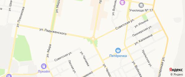 Территория Кооператив Погребов N 2 ОАО Крист на карте Асбеста с номерами домов