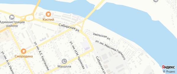 Улица им Максима Горького на карте Троицка с номерами домов