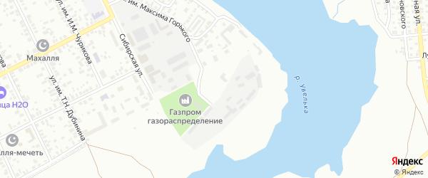 Комбинатская улица на карте Троицка с номерами домов