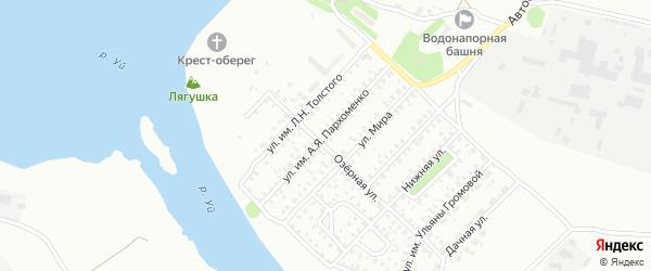 Улица им А.Я.Пархоменко на карте Троицка с номерами домов