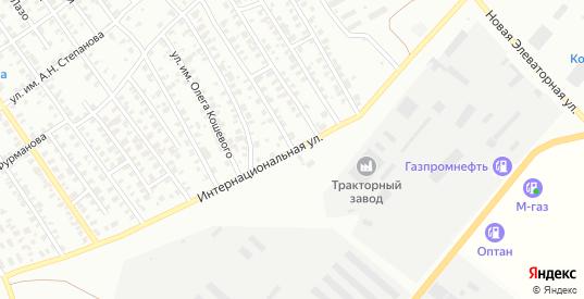Интернациональная улица в Троицке с номерами домов на карте. Спутник и схема онлайн