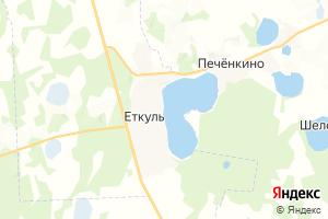 Карта с. Еткуль Челябинская область