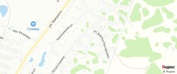 Улица Сергея Михалкова на карте Копейска с номерами домов