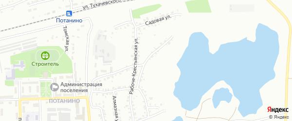 Металлургическая улица на карте Копейска с номерами домов