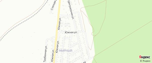 Центральная улица на карте Троицка с номерами домов