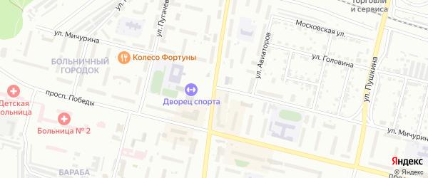 Улица Карла Маркса на карте Каменска-Уральского с номерами домов