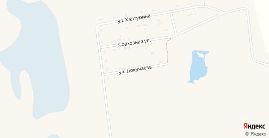 Улица Докучаева в Артемовском с номерами домов на карте. Спутник и схема онлайн