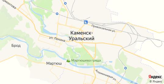Карта Каменска-Уральского с улицами и домами подробная. Показать со спутника номера домов онлайн