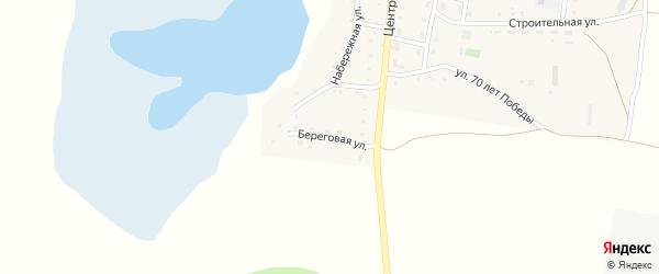 Береговая улица на карте Лесного поселка с номерами домов